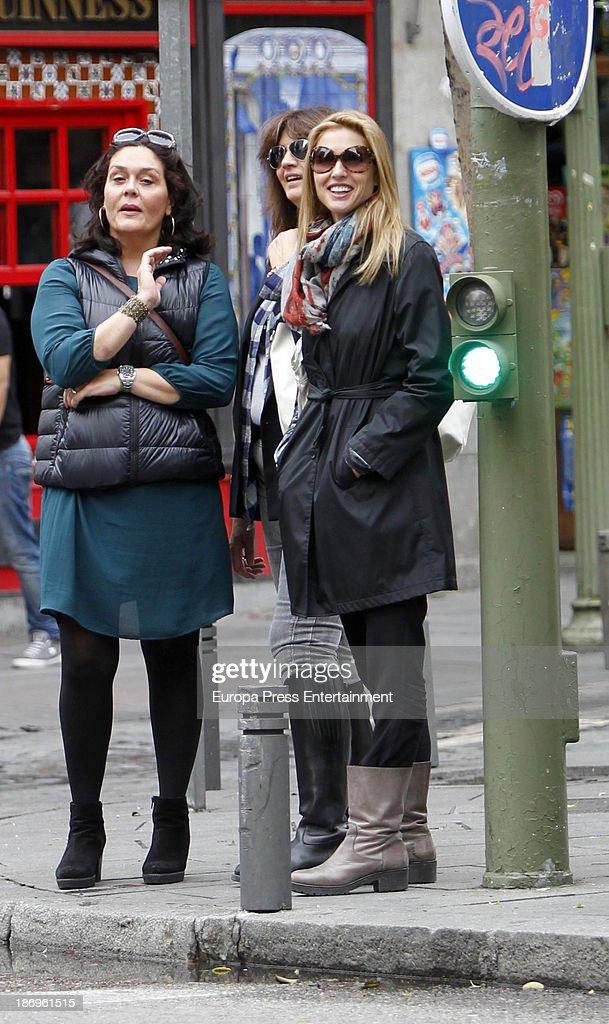 Judit Masco Sighting In Madrid - October 24, 2013