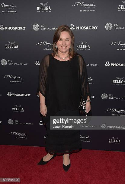Judit Polgar attends 2016 Gala Opening for World Chess Championship at The Plaza Hotel on November 10, 2016 in New York City.