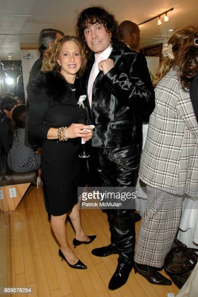 "Judith Agisim and Rodolfo Valentin attend Sofia's ""Hair for Health"" Annual Party at the Rodolfo Valentin Salon and Spa on October 11 2009 in New York..."