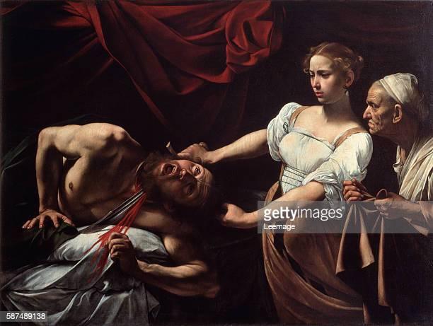 Judith and Holofernes by Michelangelo Merisi da Caravaggio Galleria Nazionale d'Arte Antica Palazzo Barberini