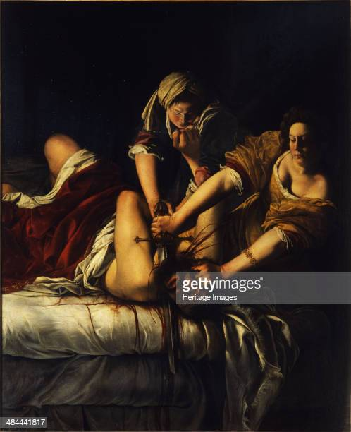 Judith and Holofernes, c. 1621. Found in the collection of the Galleria degli Uffizi, Florence.