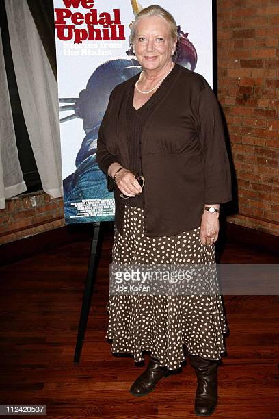 Judith Barcroft during We Pedal Uphill New York Screening at 375 Greenwich Street in New York City New York United States
