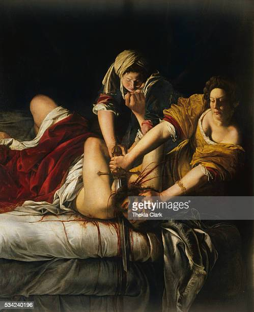 Judith Beheading Holofernes by Artemesia Gentileschi
