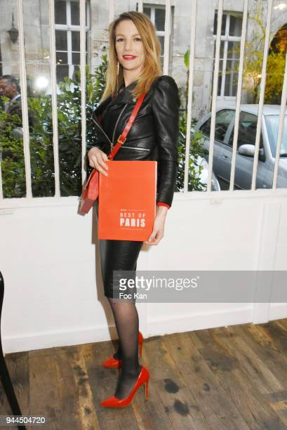 Judith Beller from Bel RP attends the 'Bel RP' 10th Anniversary at Atelier Sevigne on April 10 2018 in Paris France