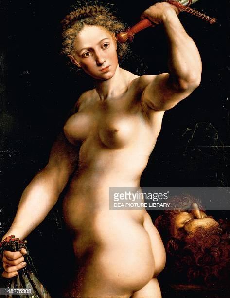 Judith ca 1540 by Jan van Hemessen oil on panel 99x77 cm Chicago Art Institute Of Chicago