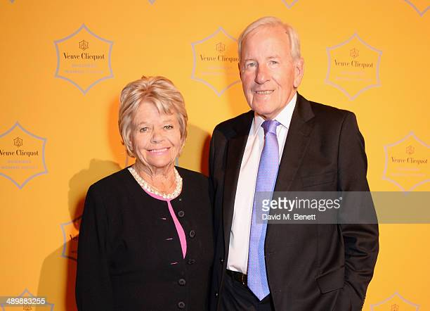 Judith Chalmers and Neil Durden Smith attend the Veuve Clicquot Business Woman Award at Claridges Hotel on May 12 2014 in London England
