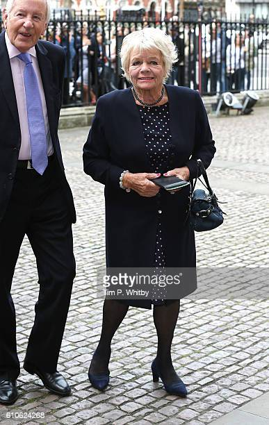 Judith Chalmers attends a memorial service for the late Sir Terry Wogan at Westminster Abbey on September 27 2016 in London England