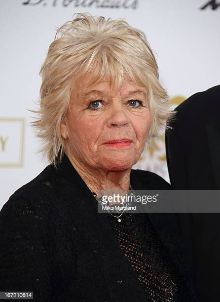Judith Chalmers attends as Relais Chateaux present 'Diner Des Grands Chefs London 2013' at The Old Billingsgate on April 22 2013 in London England