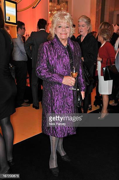Judith Chalmers attends the Veuve Clicquot Business Woman of the Year award at Claridges Hotel on April 22 2013 in London England