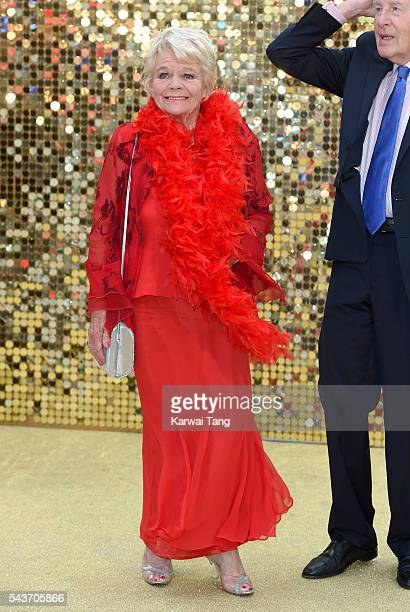 Judith Chalmers attends the World Premiere of 'Absolutely Fabulous The Movie' at Odeon Leicester Square on June 29 2016 in London England