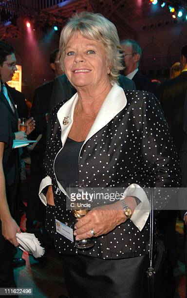 Judith Chalmers during 2005 Telegraph Travel Awards at Royal Opera House, Covent Garden in London, Great Britain.