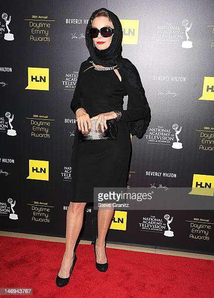Judith Chapman attends 39th Annual Daytime Emmy Awards at The Beverly Hilton Hotel on June 23 2012 in Beverly Hills California