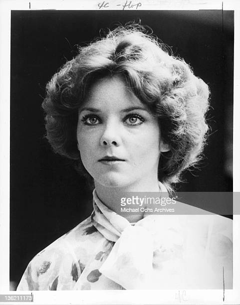 Judith Chapman publicity portrait from the television series 'Kojak' 1977
