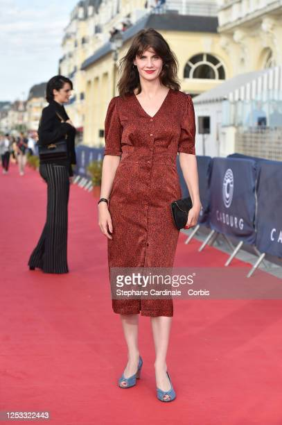 Judith Chemla attends the Closing Ceremony of the 34th Cabourg Film Festival on June 29, 2020 in Cabourg, France.