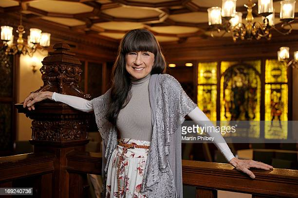 Judith Durham poses for portraits at the Hilton on the Park on the 9th of November 2011 in Melbourne, Australia.