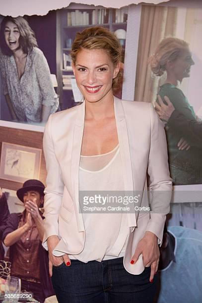Judith El Zein attends the Premiere of Le Prenom in Paris