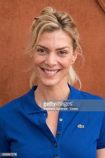 Judith El Zein attends the Roland Garros French Tennis Open 2014