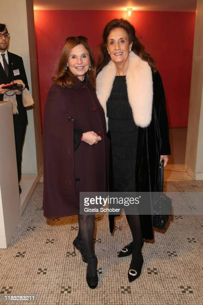 Judith Epstein and Renate von Rehbinder at the opera premiere of Die tote Stadt by Erich Wolfgang Korngold at Bayerische Staatsoper on November 18...