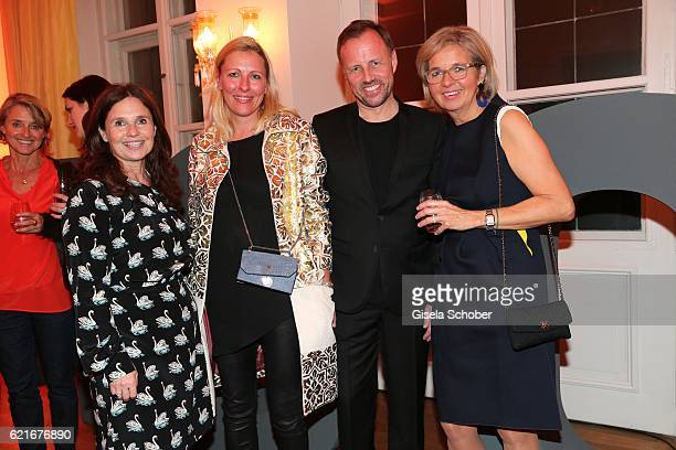 Judith Epstein Vanessa Losch Godo Kraemer and Inga GrieseSchwenkow during the birthday party for the 10th anniversary of ICON at Nymphenburg Palais...