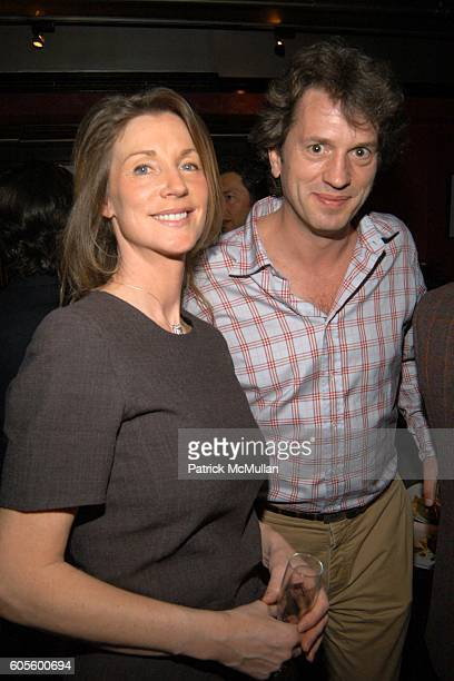 Judith Freiha and Emilio Orecchia attend Valentine's Day Cocktail Party hosted by Abby Weisman and Robin Navrozov at Serena's on February 14 2006 in...