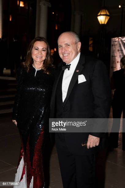 Judith Giuliani and Rudy Giuliani attend Boys and Girls Clubs of Palm Beach County Celebrate the 36th Annual Winter Ball at The Breakers on February...