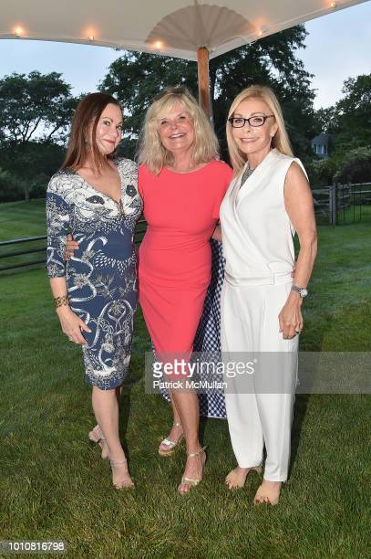 Judith Giuliani Cheryl Kelly and Andrea Ackerman attend the Rita Hayworth Gala Hamptons Kickoff Event hosted by Alzheimer's Association at Private...