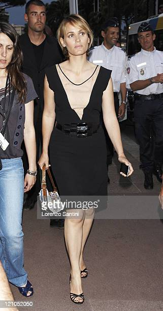 Judith Godrèche sighting at the 61st Cannes International Film Festival on May 19