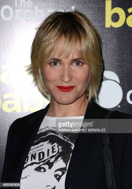 Judith Godreche attends the Los Angeles Premiere of The Orchard's Nasty Baby in Hollywood California on October 19 2015 AFP PHOTO / CHRIS DELMAS /...