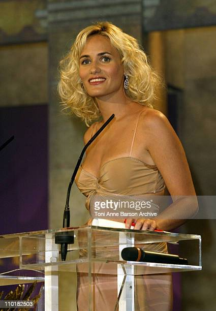 Judith Godreche during 2003 Cannes Film Festival Closing Ceremony Show at Palais des Festivals in Cannes France