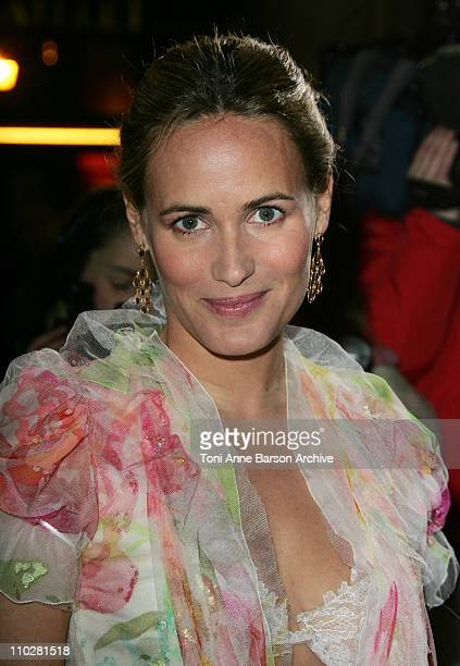 Judith Godreche during 2006 Cesar Awards Ceremony Arrivals at Theatre du Chatelet in Paris France