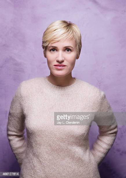 Judith Godreche photographed for Los Angeles Times at the 2015 Sundance Film Festival on January 24 2015 in Park City Utah PUBLISHED IMAGE CREDIT...