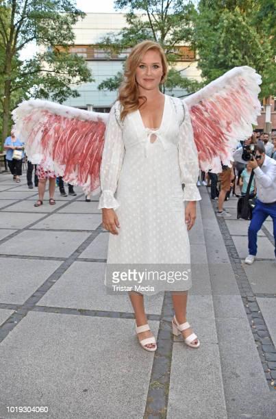 Judith Hoersch during the 'Schneefloeckchen' Premiere at Kino in der Kulturbrauerei on August 18 2018 in Berlin Germany