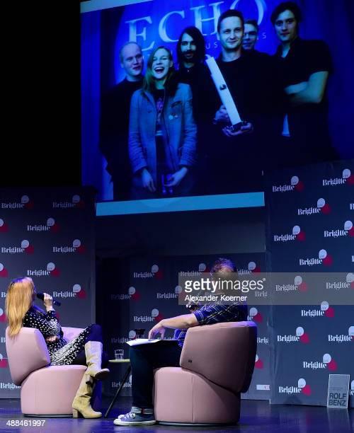 Judith Holofermes and Stephan Bartels attend the 'Brigitte Live Die Stunden der Frauen' talk at Hamburger Kammerspiele on May 6 2014 in Hamburg...