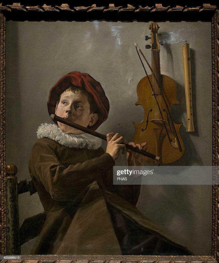 Judith Leyster   Dutch painter  Boy Playing a Flute, 1630s