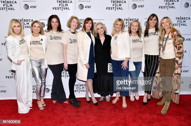 Judith Light Amy Robach guest Kathleen Finch Jane Rosenthal Sheila Nevins Sandra Lee Kimber Lee Mariah Kennedy Cuomo and guest attend a screening of...