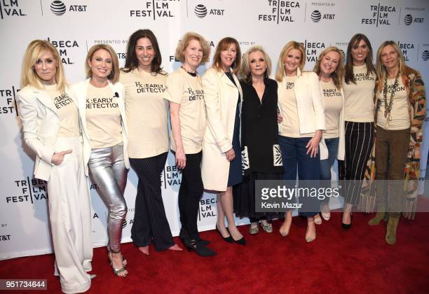 Judith Light Amy Robach Kathleen Finch Jane Rosenthal Sandra Lee Kimber Lee and Mariah Kennedy Cuomo attend the HBO Documentary Film 'RX Early...