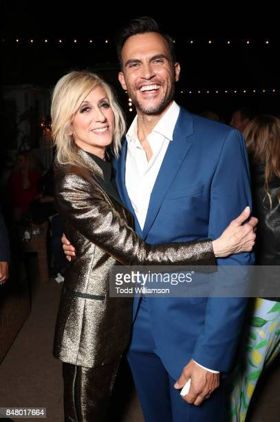 Judith Light and Cheyenne Jackson attend the 2017 Gersh Emmy Party presented by Tequila Don Julio 1942 on on September 15 2017 in Los Angeles...