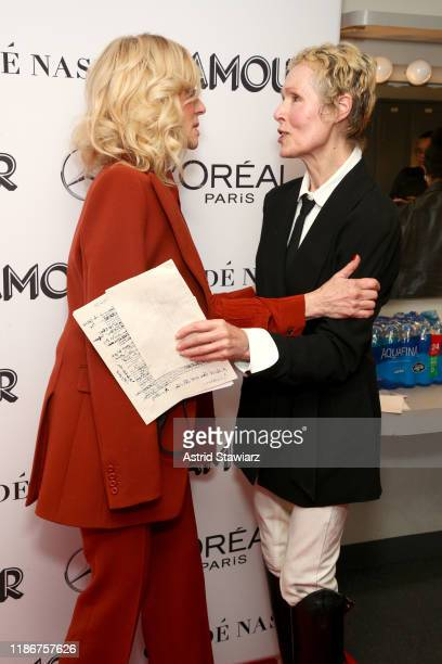 Judith Light and E Jean Carroll attend the 2019 Glamour Women Of The Year Summit at Alice Tully Hall on November 10 2019 in New York City