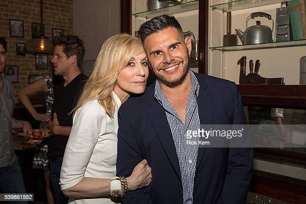 Judith Light and Silvio Horta attend the Ugly Betty Reunion After Party presented with Entertainment Weekly sponsored by Toyota at the ATX Television...