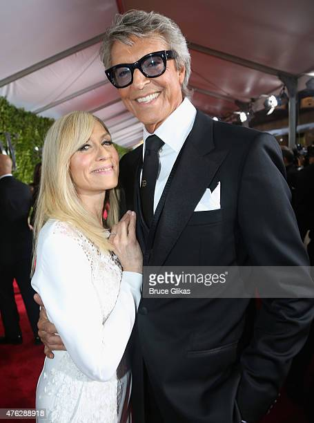 Judith Light and Tommy Tune attends the American Theatre Wing's 69th Annual Tony Awards at Radio City Music Hall on June 7 2015 in New York City