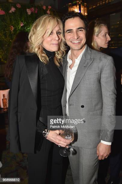 Judith Light and Zac Posen attend the VieVite x Zac Posen LimitedEdition Bottle Launch at Salon de Ning at The Penisula on May 15 2018 in New York...