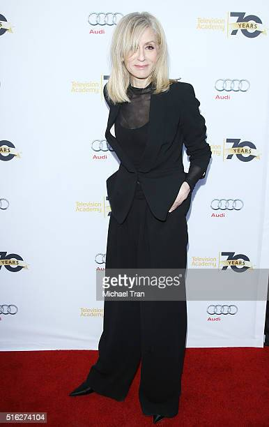 Judith Light arrives at the Television Academy's Transparent Anatomy of an Episode held at The Theatre at Ace Hotel on March 17 2016 in Los Angeles...