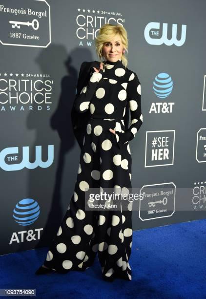 Judith Light at The 24th Annual Critics' Choice Awards at Barker Hangar on January 13, 2019 in Santa Monica, California.
