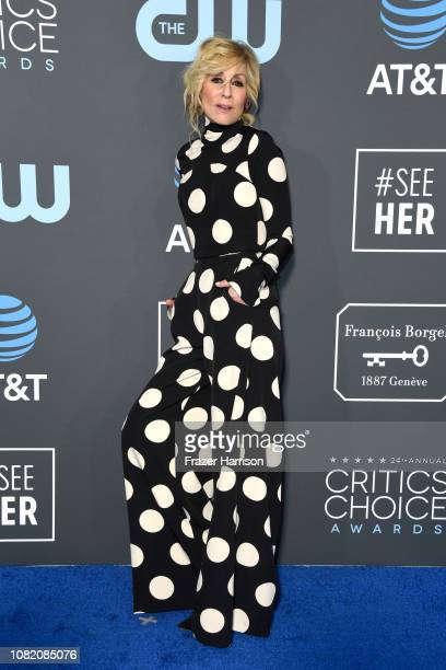 Judith Light attends the 24th annual Critics' Choice Awards at Barker Hangar on January 13 2019 in Santa Monica California