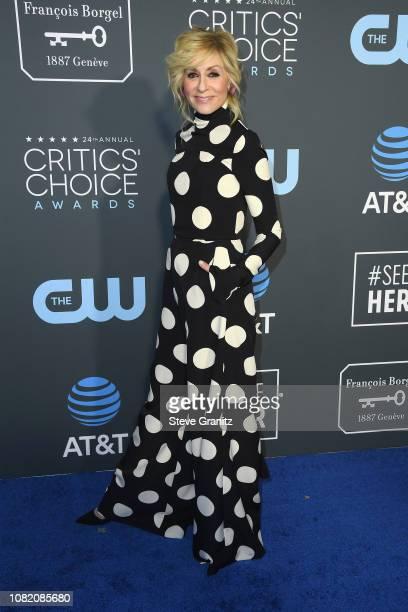Judith Light attends the 24th annual Critics' Choice Awards at Barker Hangar on January 13, 2019 in Santa Monica, California.