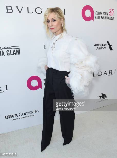Judith Light attends the 26th annual Elton John AIDS Foundation Academy Awards Viewing Party sponsored by Bulgari celebrating EJAF and the 90th...