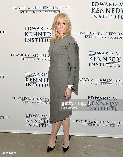 Judith Light attends the Edward M Kennedy Institute for the US Senate Opening Night Gala and Dedication on March 29 2015 in Boston Massachusetts