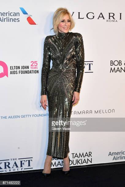 Judith Light attends the Elton John AIDS Foundation's Annual Fall Gala with Cocktails By Clase Azul Tequila at Cathedral of St John the Divine on...