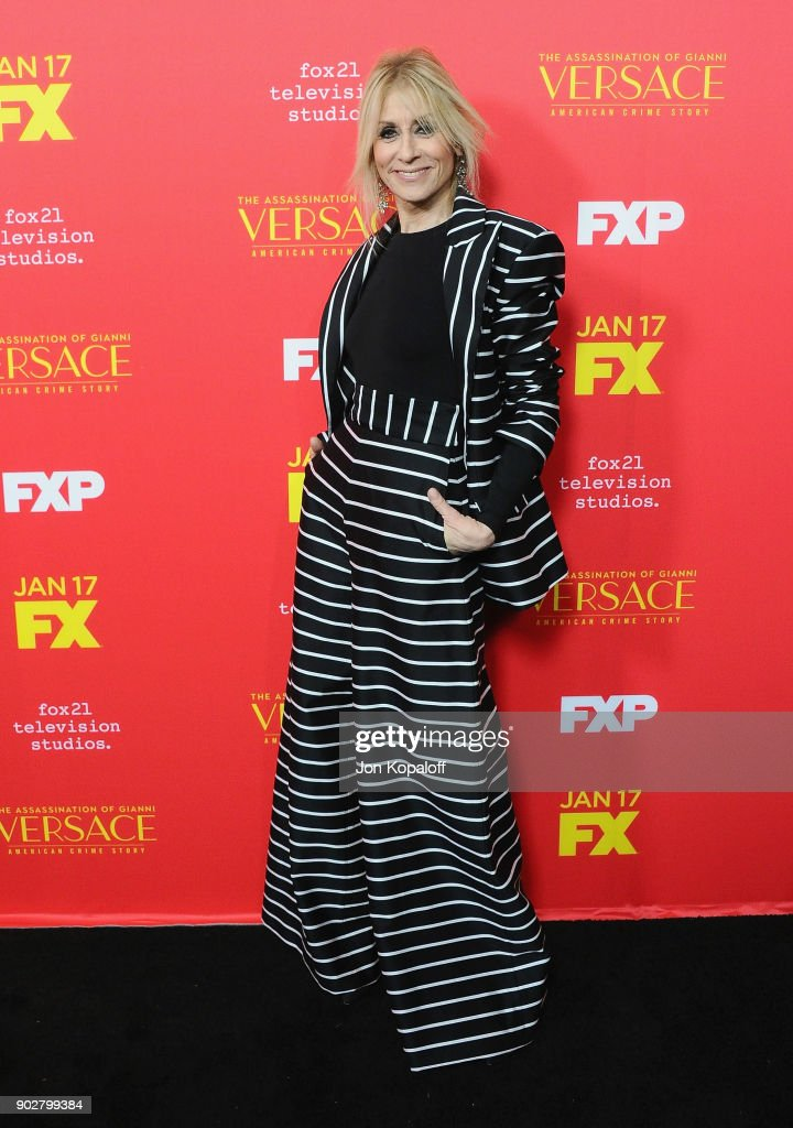 Judith Light attends the Los Angeles Premiere 'The Assassination Of Gianni Versace: American Crime Story' at ArcLight Hollywood on January 8, 2018 in Hollywood, California.