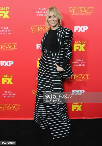 Judith Light attends the Los Angeles Premiere 'The Assassination Of Gianni Versace American Crime Story' at ArcLight Hollywood on January 8 2018 in...